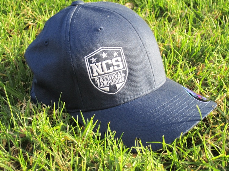 NCS Logo Hat - Flex Fit - Navy