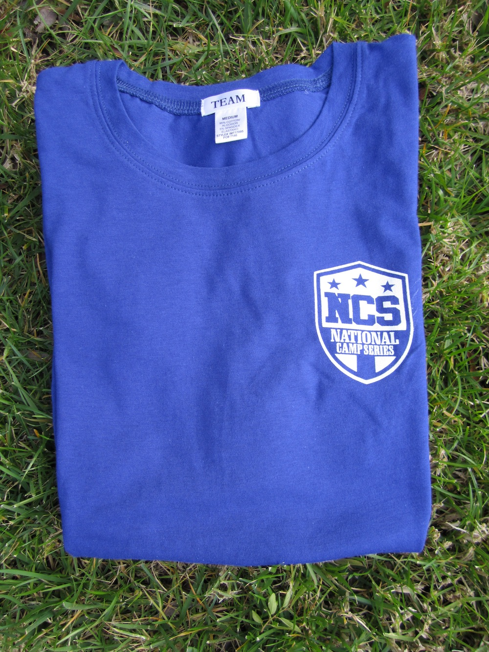 Women Logo Tee - Crew Neck - Royal Blue